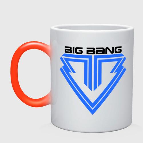 Кружка хамелеон  Фото 01, Big bang logo