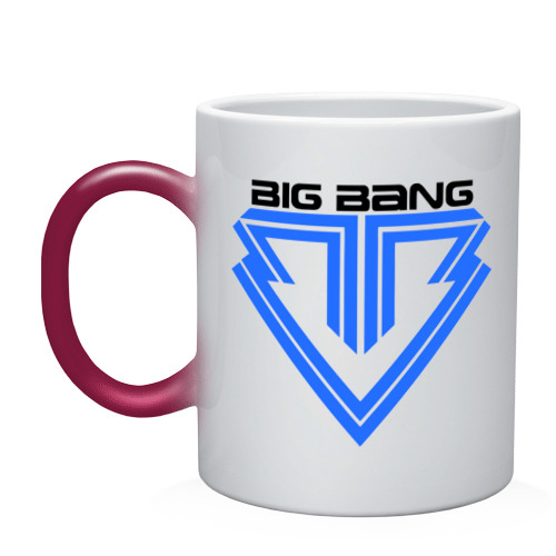 Кружка хамелеон  Фото 01, Big bang logo