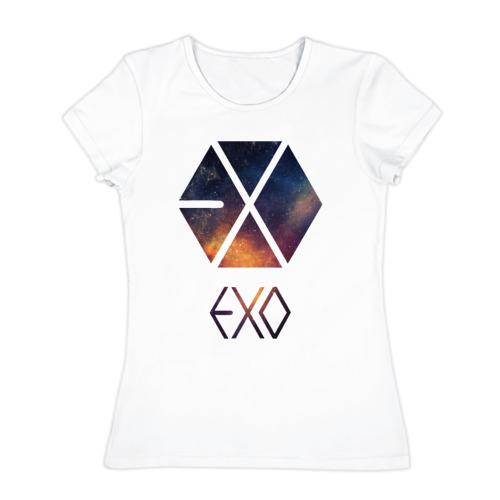Женская футболка хлопок EXO
