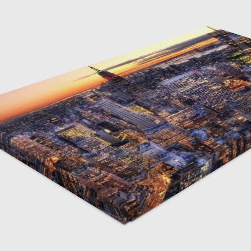 Холст прямоугольный  Фото 04, Городской закат