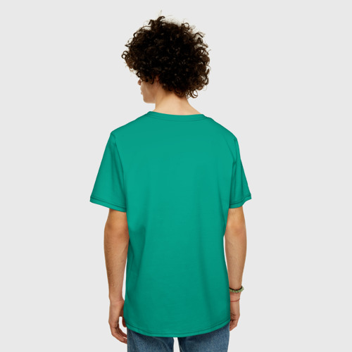 Мужская футболка хлопок Oversize MAN Фото 01