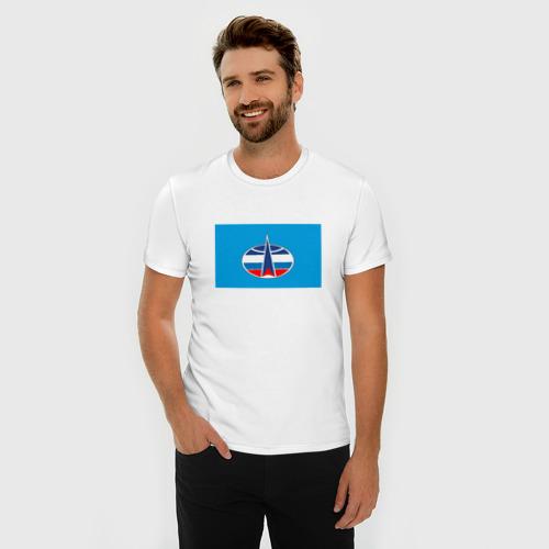 Мужская футболка премиум  Фото 03, Воздушно-космическая оборона