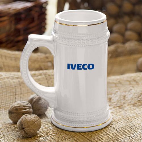 Кружка пивная  Фото 04, Iveco