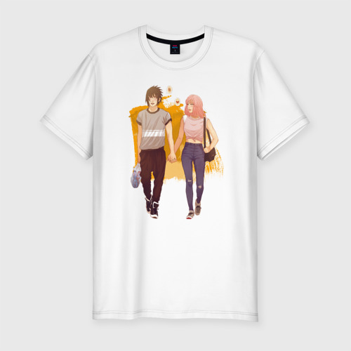 Мужская футболка премиум  Фото 01, Саске и Сакура