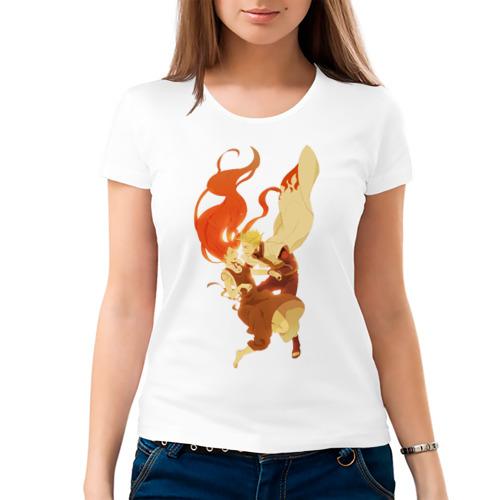 Женская футболка хлопок  Фото 03, Кушина и Минато
