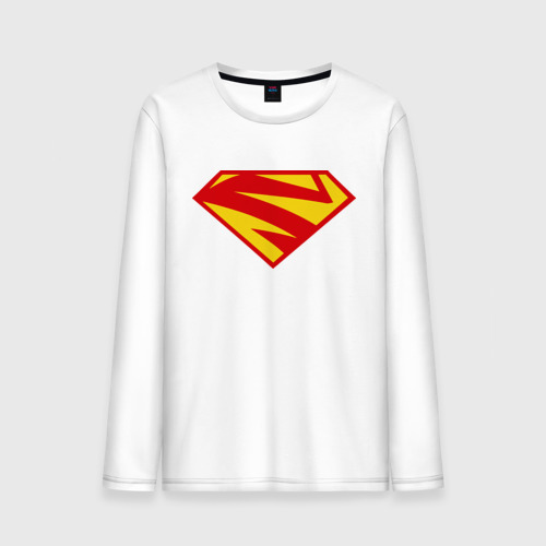 Мужской лонгслив хлопок  Фото 01, Supergirl