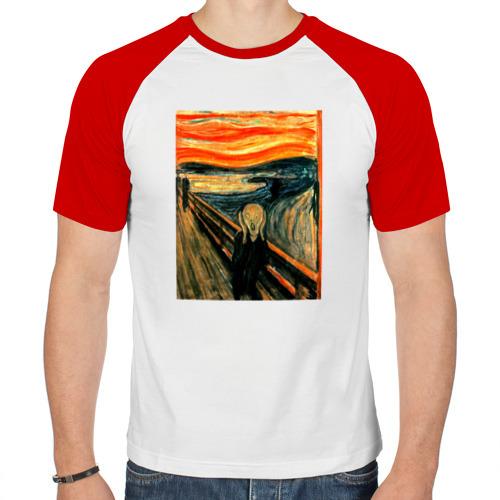 Мужская футболка реглан  Фото 01, Крик