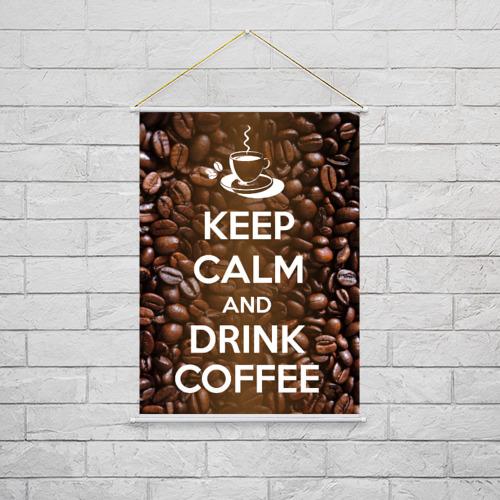 Тканевый плакат  Фото 02, Drink coffee