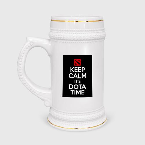Кружка пивная Dota time