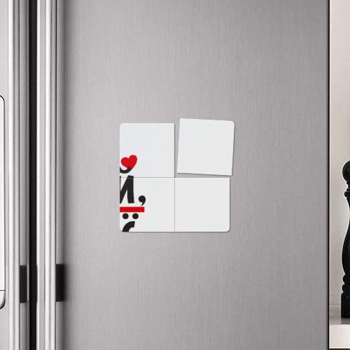 Магнитный плакат 2Х2  Фото 04, Андрей ты мое все