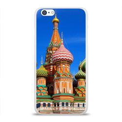 Чехол для Apple iPhone 6Plus/6SPlus силиконовый глянцевыйХрам Василия Блаженного