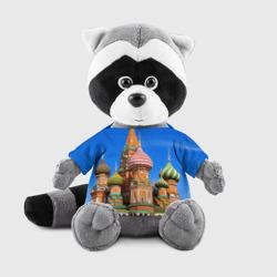 Енотик в футболке 3DХрам Василия Блаженного