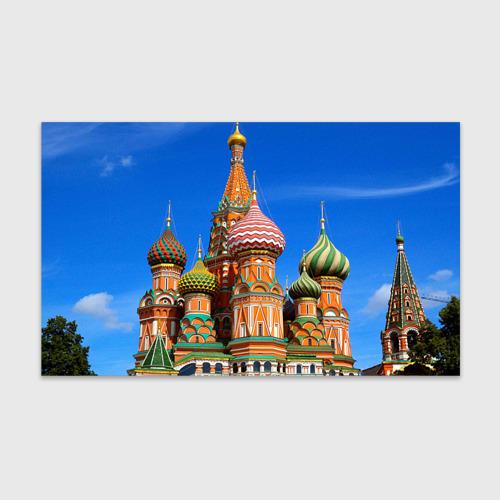 Бумага для упаковки 3D Храм Василия Блаженного