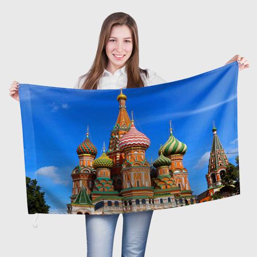 Флаг 3D Храм Василия Блаженного