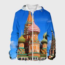 Мужская куртка 3DХрам Василия Блаженного
