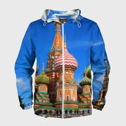 Мужская ветровка 3DХрам Василия Блаженного