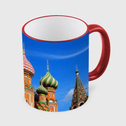Кружка с полной запечаткойХрам Василия Блаженного