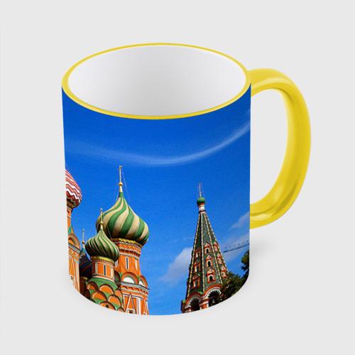 Кружка с полной запечаткой Храм Василия Блаженного