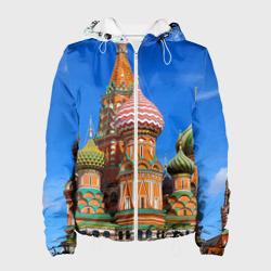 Женская куртка 3DХрам Василия Блаженного