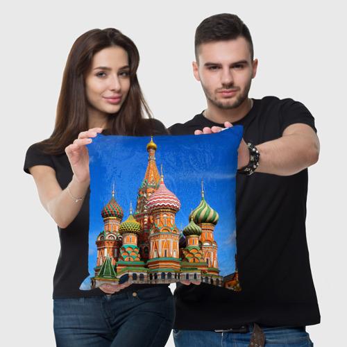Подушка 3D Храм Василия Блаженного Фото 01