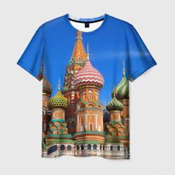 Мужская футболка 3DХрам Василия Блаженного
