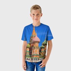 Детская футболка 3DХрам Василия Блаженного