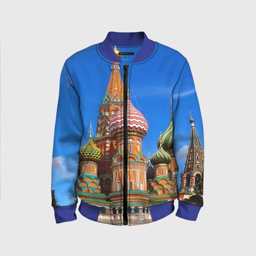 Детский бомбер 3D Храм Василия Блаженного