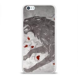 Чехол для Apple iPhone 6Plus/6SPlus силиконовый глянцевыйВолк Старков