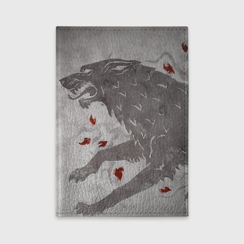 Обложка для автодокументов Волк Старков