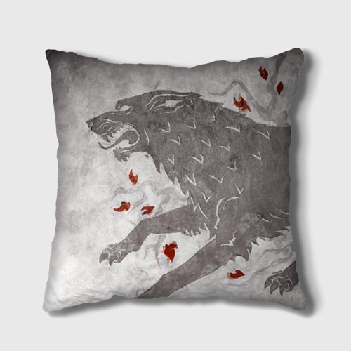 Подушка 3D Волк Старков