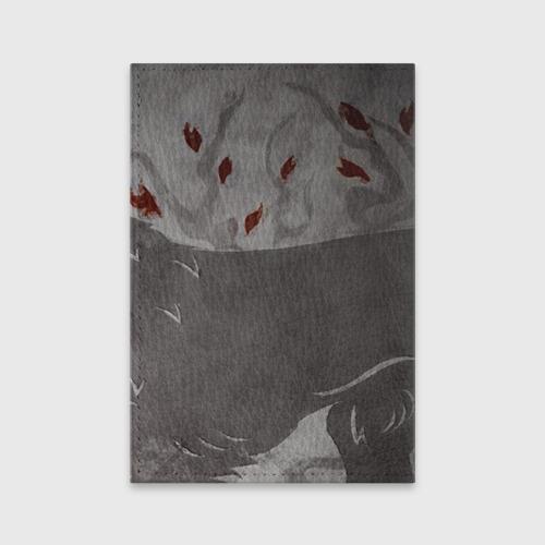 Обложка для паспорта матовая кожа  Фото 02, Волк Старков