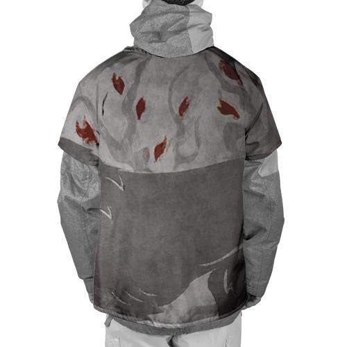 Накидка на куртку 3D  Фото 02, Волк Старков
