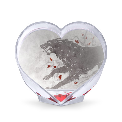 Сувенир Сердце Волк Старков от Всемайки