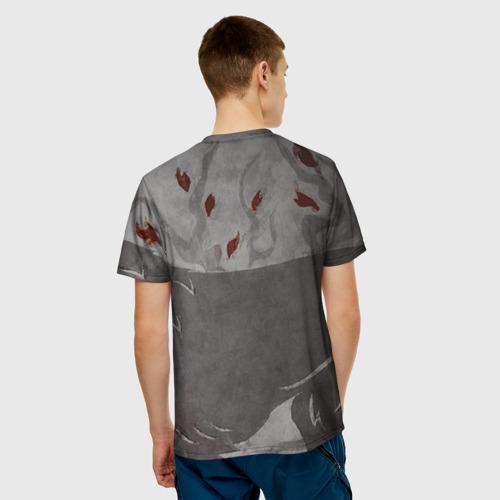 Мужская футболка 3D Волк Старков