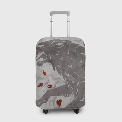 Чехол для чемодана 3D Волк Старков