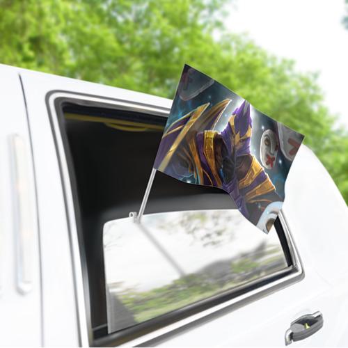 Флаг для автомобиля  Фото 03, Silencer