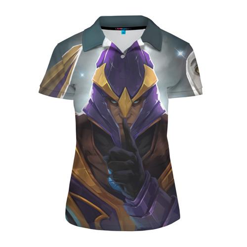 Женская рубашка поло 3D Silencer
