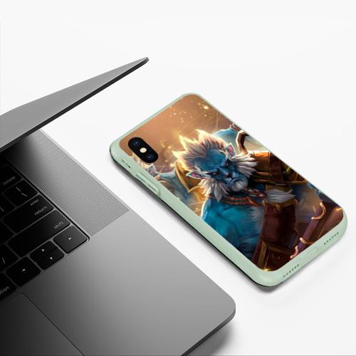 Чехол для iPhone XS Max матовый Phantom Lancer Фото 01