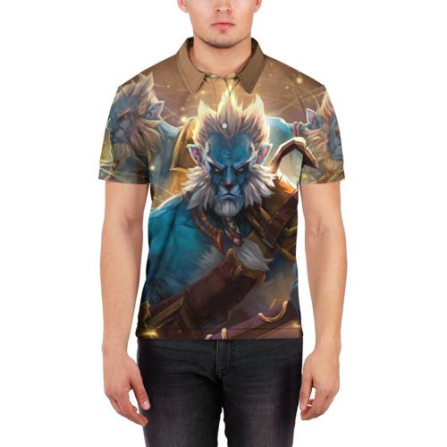 Мужская рубашка поло 3D  Фото 03, Phantom Lancer