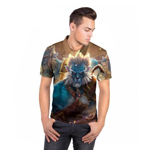 Мужская рубашка поло 3D  Фото 05, Phantom Lancer