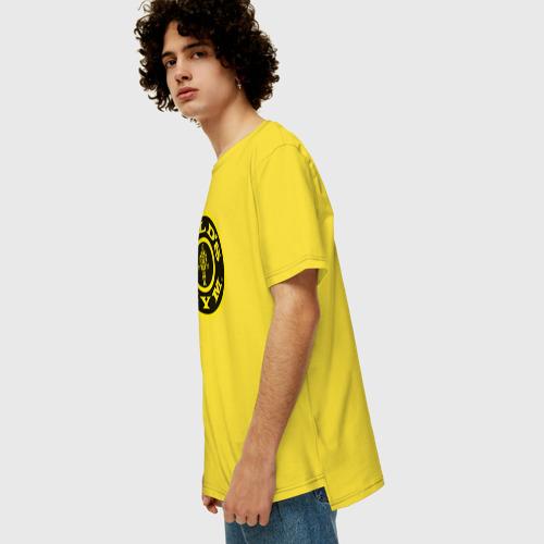 Мужская футболка хлопок Oversize GOLD'S GYM Фото 01