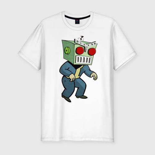 Мужская футболка премиум  Фото 01, Fallout Robo