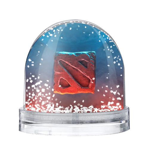 Водяной шар со снегом Dota