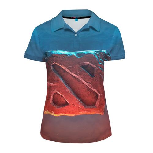 Женская рубашка поло 3D Dota