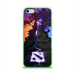 Чехол для Apple iPhone 5/5S силиконовый глянцевыйDota
