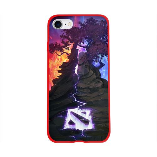 Чехол для Apple iPhone 8 силиконовый глянцевый Dota