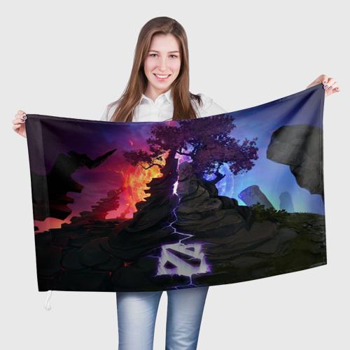 Флаг 3D Dota