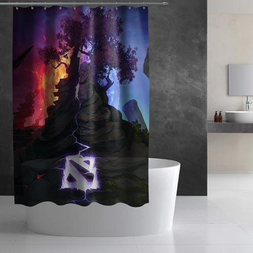 Штора 3D для ванной Dota Фото 01