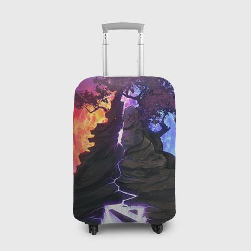 Чехол для чемодана 3D Dota