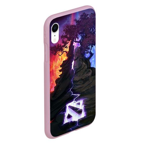 Чехол для iPhone XR матовый Dota Фото 01